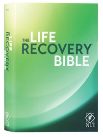 NLT Life Recovery Bible Black Letter (25th Anniversary Edition)