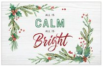 Christmas Pass-Around Cards: All is Calm (25 Pack)