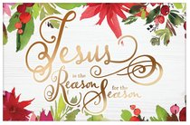 Christmas Pass-Around Cards: Jesus is the Reason (25 Pack)