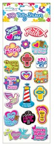 Puffy Stickers: Mixed Icons Series (1 Sheet Per Pack)