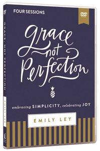 Grace, Not Perfection Video Study: Embracing Simplicity, Celebrating Joy (Dvd)