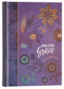 2019 16-Month-Weekly Diary/Planner: Amazing Grace (Purple With Orange Flowers)
