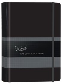 2019 16-Month Weekly Diary/Planner: Write Executive Elastic Closure (Onyx)
