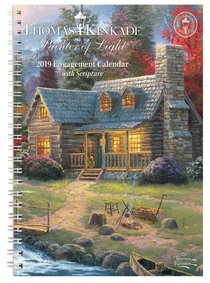 2019 Painter of Light Planner/Diary With Scripture
