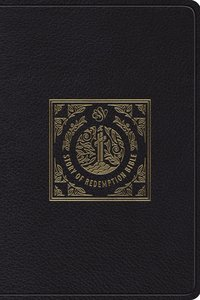 ESV Story of Redemption Bible: A Journey Through the Unfolding Promises of God Black