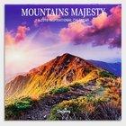 2019 Wall Calendar: Mountains Majesty