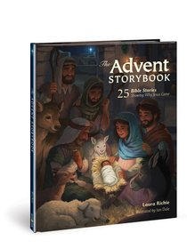 The Advent Storybook:25 Bible Stories Showing Why Jesus Came