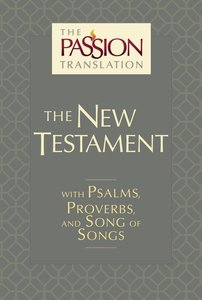 TPT New Testament Slate (With Psalms Proverbs And Song Of Songs)