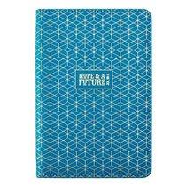 Bible Study Kits: Hope & a Future, Blue/White Patter Luxleather Folder