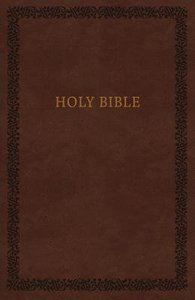 KJV Holy Bible Soft Touch Edition Brown