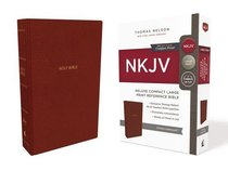 NKJV Deluxe Reference Bible Compact Large Print Red (Red Letter Edition)