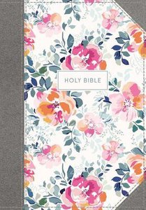 KJV Journal the Word Bible Pink Floral (Red Letter Edition)