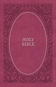 NKJV Holy Bible Soft Touch Edition Pink (Black Letter Edition)