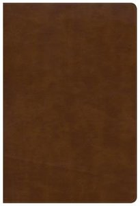 NKJV Large Print Ultrathin Reference Bible British Tan Indexed (Red Letter Edition)
