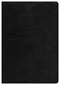 CSB Super Giant Print Reference Bible Black Indexed (Red Letter Edition)