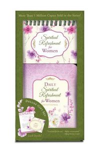 Spiritual Refreshment For Women Boxed Set (Devotional And Perpetual Calendar)