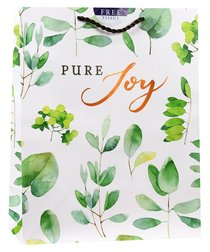 Gift Bag Large: Pure Joy (Incl Two Sheets Tissue Paper, Copper Foil)