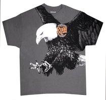 T-Shirt Eagle: Small Grey (Isaiah 40:31)