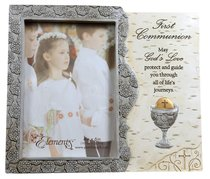 Elements Photo Frame: First Communion, May Gods Love Protect and Guide You....