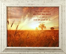Outlooks Framed Art: This is the Day the Lord Has Made.....Psalm 118:24
