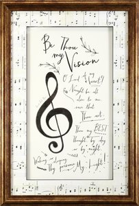 Framed Art Print: Be Thou My Vision