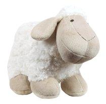 Plush Cuddly Christening Sheep Beige & White