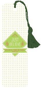 Tassel Bookmark: Just Believe