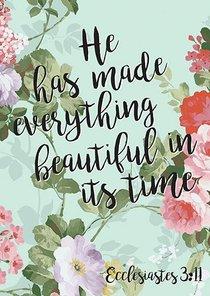 Poster Large: Everything Beautiful - Ecc 3:11