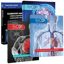Elementary Anatomy - Nervous, Respiratory & Circulatory Systems (Package) (Gods Wondrous Machine Series)