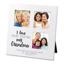 Mdf Ceramic Small Frame Collage: I Love That Youre My Grandma (Philemon 1:7)
