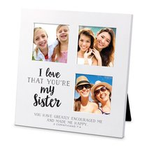 Mdf Ceramic Small Frame Collage: I Love That Youre My Sister (2 Cor 7:4)