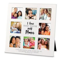 Mdf Ceramic Frame Collage: I Love That Youre My Mum (Eph 1:6)