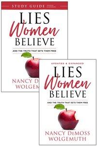 Lies Women Believe and Study Guide For Lies Women Believe (2 Book Set)