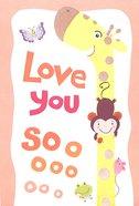 Love You So Much Nana (Top Fold, Giraffe)