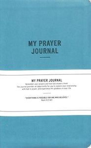 Prayer Journal: My Prayer Journal, Teal