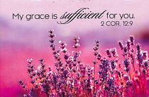 Magnet With a Message: My Grace is Sufficient For You (2 Cor 12:9)
