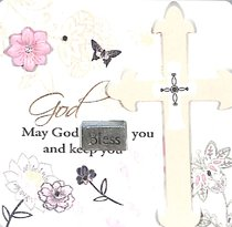 Mark My Words Ceramic Plaque: May God Bless You