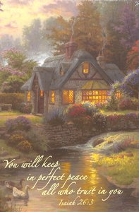 Journal Thomas Kinkade: Stillwater Cottage