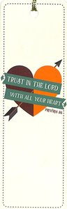 Tassal Bookmark: Trust in the Lord With All Your Heart