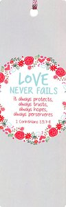Tassal Bookmark: Love Never Fails