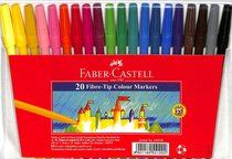Faber-Castell Fine Markers Wallet of 20