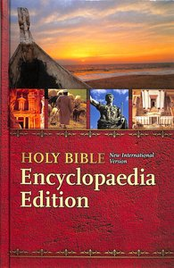 NIV Thinline Bible Encyclopaedia Schools