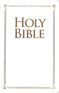 KJV Special Occasion Holy Bible White