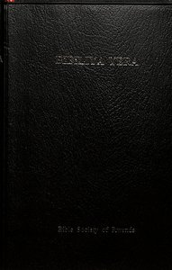 Bibliya Yera Compact Black (Kinyarwanda)