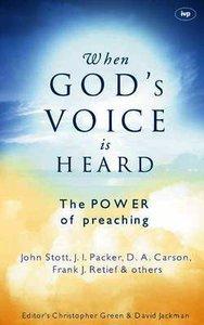When Gods Voice is Heard