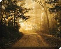 Canvas Wall Art: Your Word is a Lamp Unto My Feet, Forest