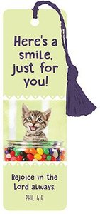 Tassel Bookmark: Heres a Smile Just For You!