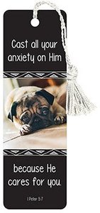 Tassel Bookmark: Cast All Your Anxiety