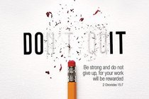 Poster Small: Dont Quit
