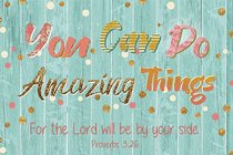 Poster Small: You Can Do Amazing Things